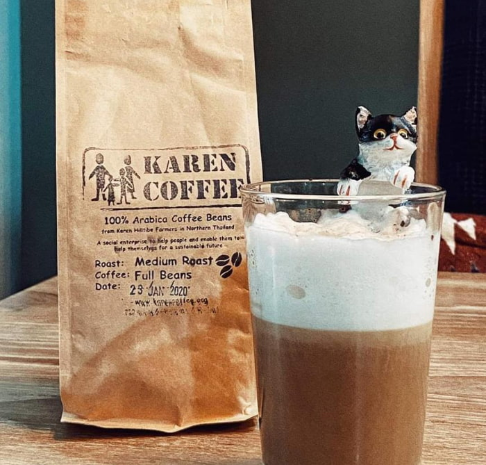 Karen Coffee products